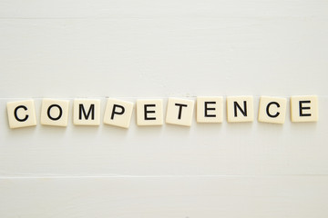 COMPETENCE word