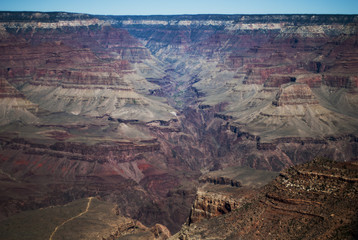 A powerful and inspiring landscape of Grand Canyon from Grandvie