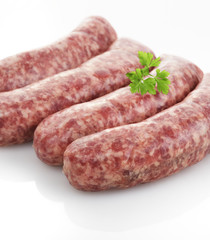 Fresh Raw Sausages