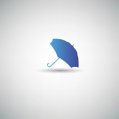 Umbrella symbol,vector