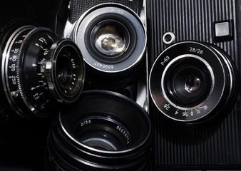 old cameras lenses