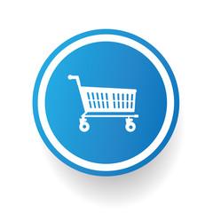 Shopping cart symbol,vector
