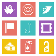 Icons for Web Design set 14