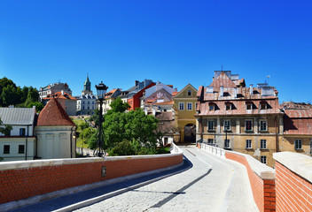 Obraz Stare Miasto Lublin. Miasto w Polsce - fototapety do salonu