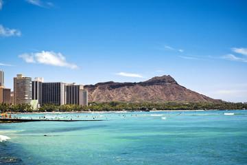 Diamond Head in Waikiki, Hawaii