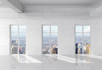 Fototapete - brick loft