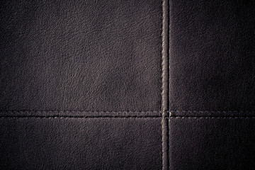 Leather stitched texture