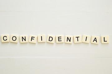CONFIDENTIAL word