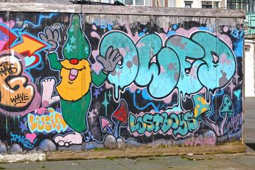 Graffiti Wall in Brighton