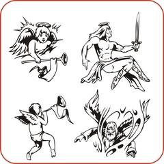 Christian Religion - vector illustration.
