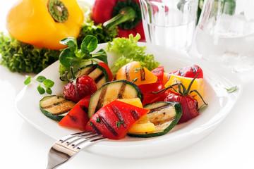 Veggy Succulent grilled vegetables
