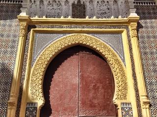 Morroccan door.