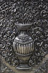 Silver Thai art