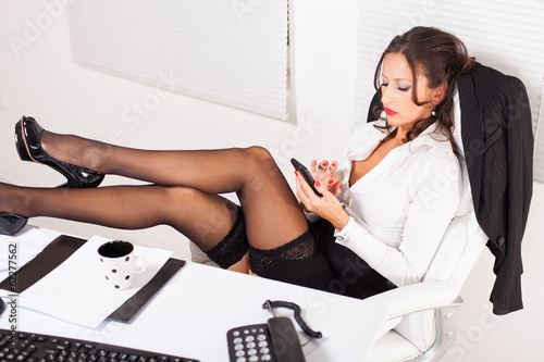 hot office pic. Hot Business Woman In The Office Pic
