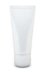 Blank cosmetic tube