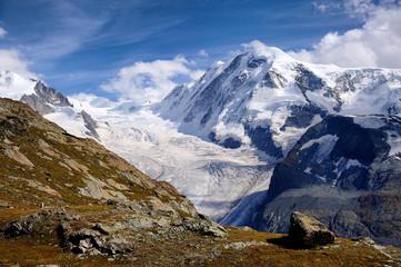 le glacier de Gonergrat