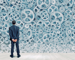 Wall Mural - Working mechanism