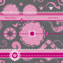 Vector Art Pattern Background Fancy Pattern Wallpaper