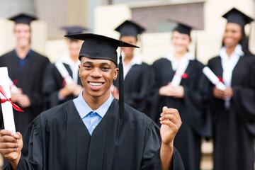 african american male college graduate