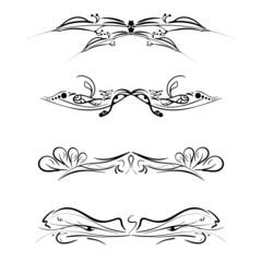 Vector set of patterns