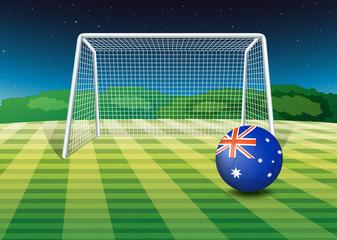 A soccer ball from Australia