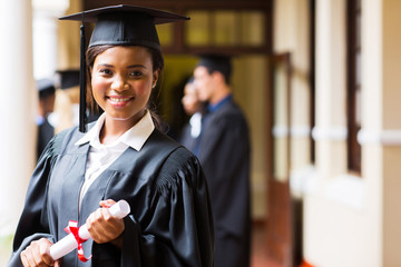 smart african university graduate