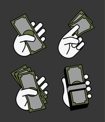 Hand money set