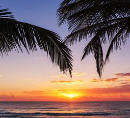 Tuinposter Centraal-Amerika Landen Tropical beach