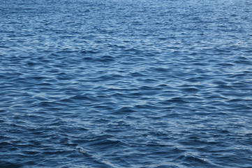 Blue Water Waves Texture