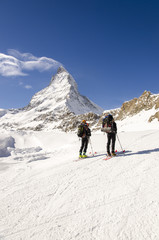 Alpine Touring in Swiss Alps