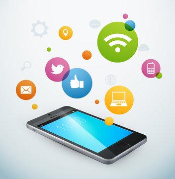 téléphone portable applications