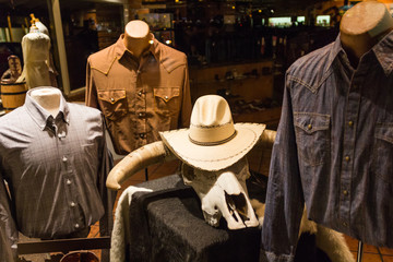 Cowboy clothes shop