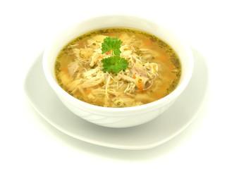 zupa flaczki drobiowe
