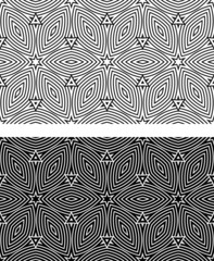 Set abstract seamless (tile, pattern)background. Texture.