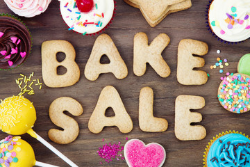 Self adhesive Wall Murals Cookies Bake sale cookies