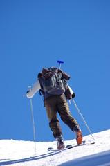 ski de randonnée - ascension