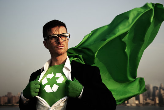 Superhero of Green Business