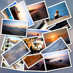 vacantion collage