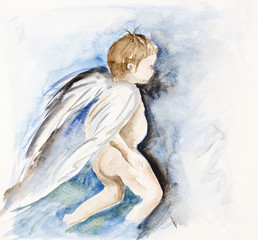 Angel - human child