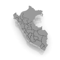 Map of Peru