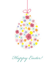 Happy Easter! Spring card.