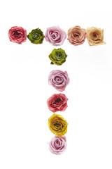 Rose font T