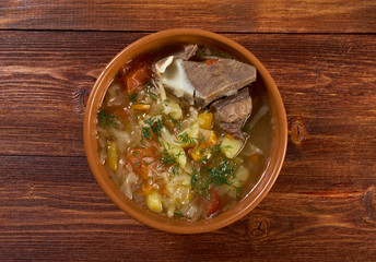 Russiancabbage soup - stchi
