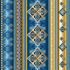 blue royal lily seamless