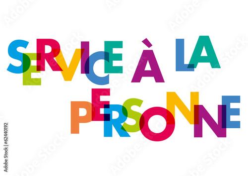 Mot service a la personne fichier vectoriel libre de for Salon service a la personne