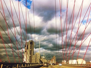 bridge in moskow
