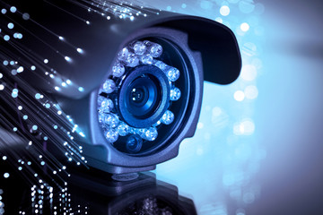 Obraz spy cam - fototapety do salonu