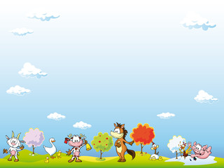 animal farm background