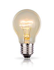 Light Bulb isolated on white background