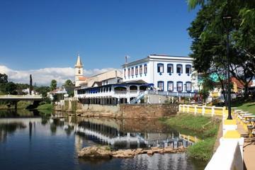 Colonial City of Morretes, Parana, Brazil